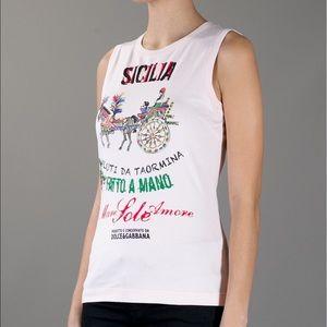 Dolce and Gabbana Sicilia Tank 🇮🇹